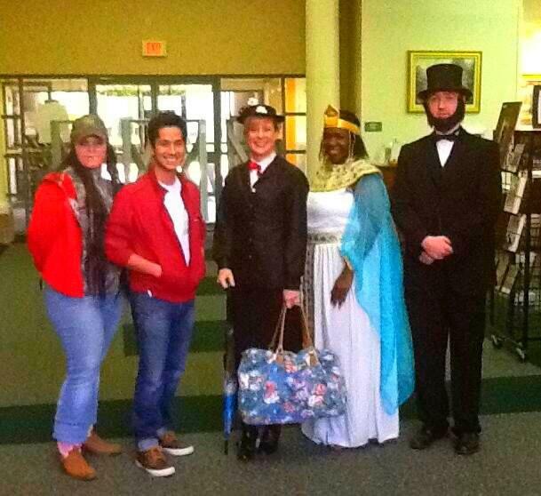 Halloween 2012 Lib Staff