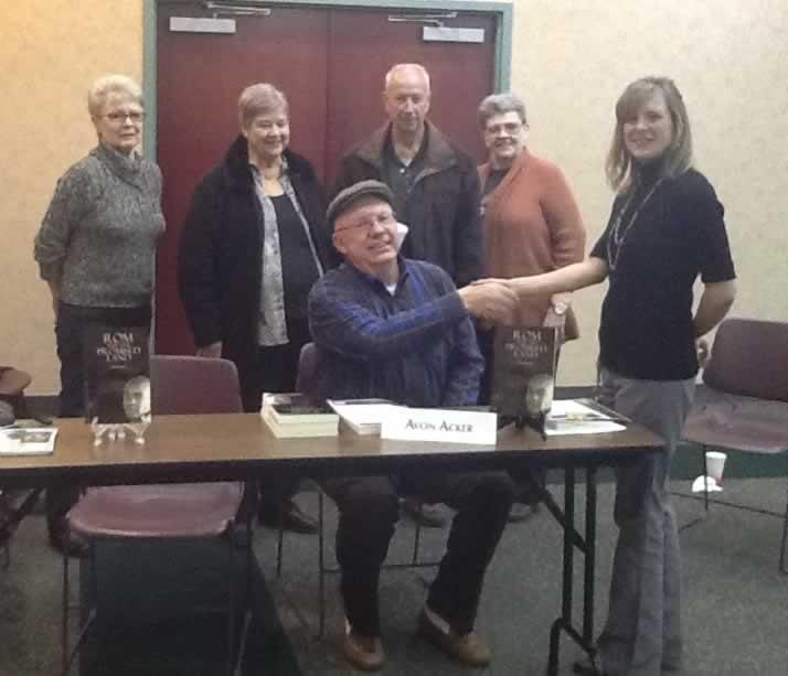 Acker Author Visit