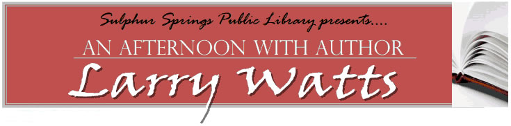 Author Larry Watts
