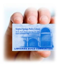 Hand With Library Card