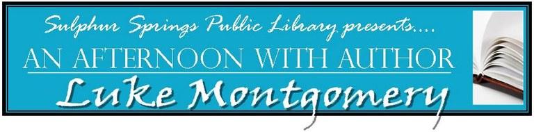 Luke Montgomery Afternoon Author